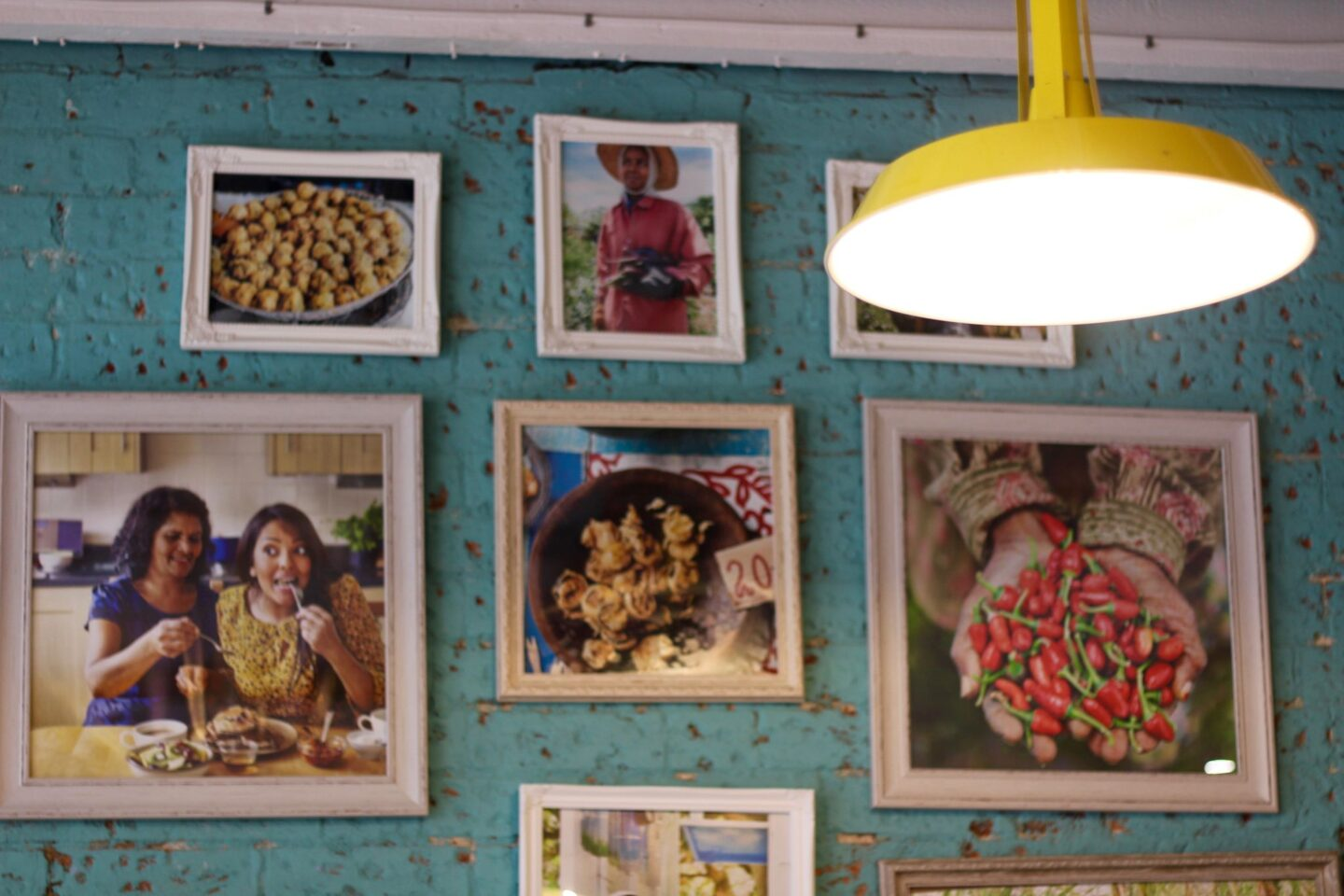 decor inside Lakaz Maman Mauritian street kitchen