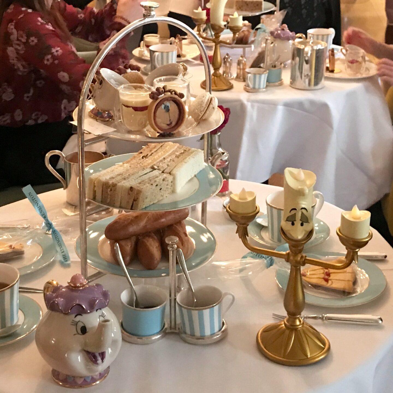 afternoon tea three tier spread
