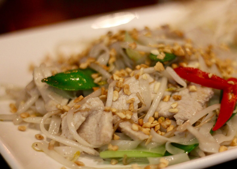 Chicken Pho Xào (wok fried noodles)